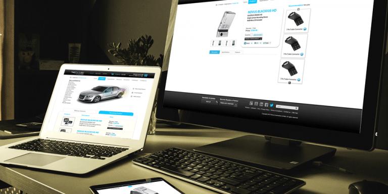 Novus Website - Design Example